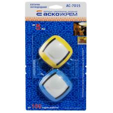 Ліхтарик світлодіодний AC-7015 (бл. 2шт, жовтий, синій)